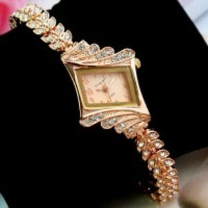 Elegant Rose Gold Watch